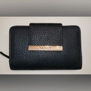 Tahari Wallet With Gold Accents NWOT